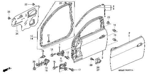 2004 honda accord parts diagram 2005 nissan frontier radio wiring online store door panels lx 2 5mt