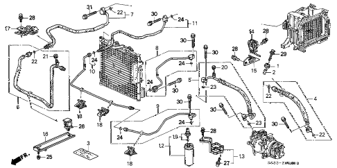 1998 Honda Civic Exhaust Diagram 1998 Ford Expedition
