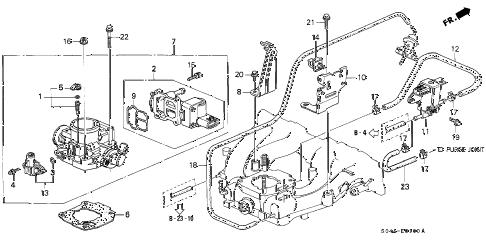 Honda online store : 2000 civic throttle body (1) parts