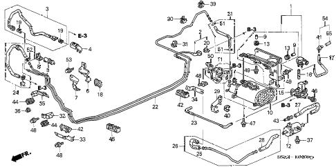 Honda online store : 2001 civic fuel pipe (1) parts
