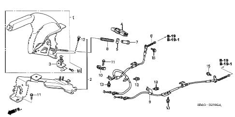 Honda online store : 2003 civic parking brake (3) parts