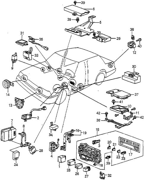 [DIAGRAM] 1998 Honda Accord Horn Fuse Diagram FULL Version