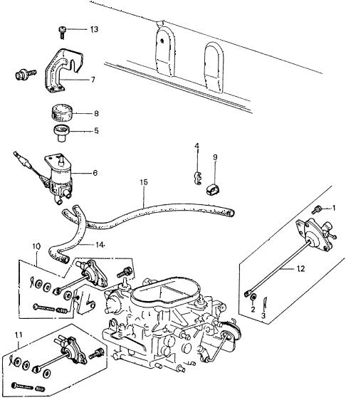 Honda online store : 1981 civic a/c solenoid valve