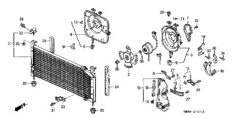 Honda online store : 1989 crx a/c air conditioner