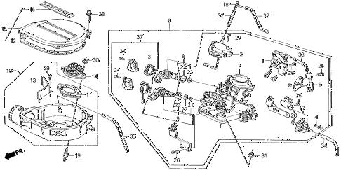 Crx Main Relay Wiring Diagram. Crx. Wiring Diagram