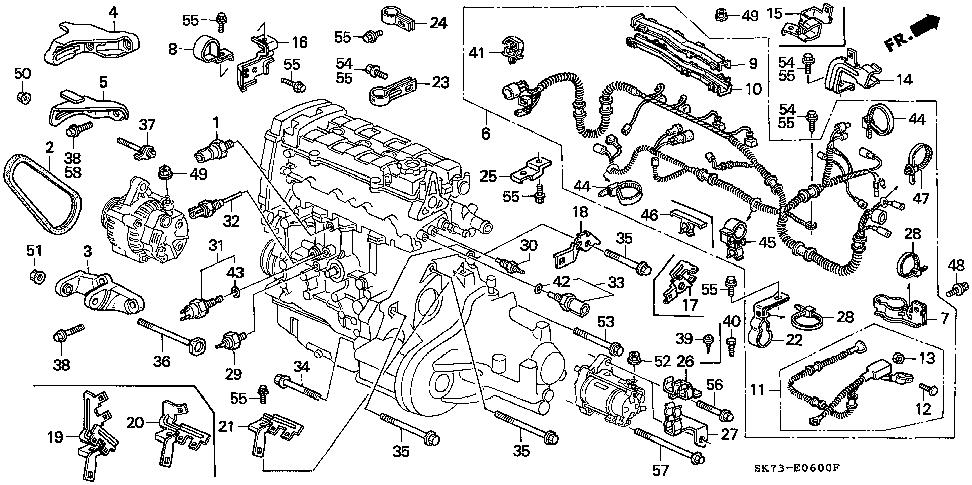 93 Acura Integra Wiring Diagram. Schematic Diagram