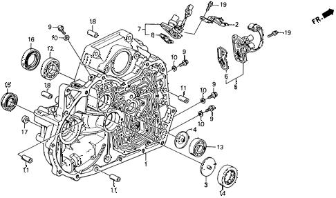 Honda online store : 1993 accord at torque converter