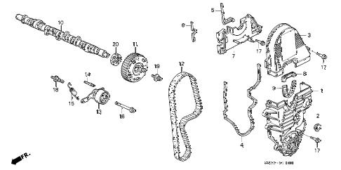Honda Civic Timing Belt Diagram. honda civic how to