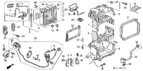 Honda online store : 1995 civic a/c unit (2) parts