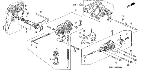 Honda online store : 1994 accord at regulator parts