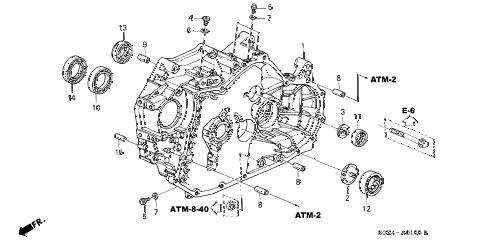 Honda online store : 2000 odyssey at torque converter