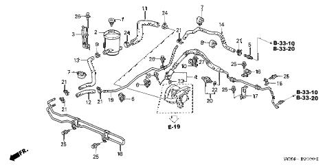 Honda online store : 2001 odyssey p.s. lines parts