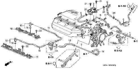 Honda online store : 2003 odyssey tubing ('02-) parts