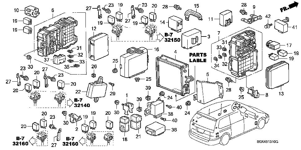 honda odyssey transmission diagram honda