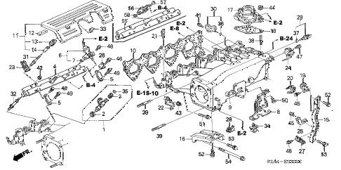 Honda online store : 2002 s2000 intake manifold parts