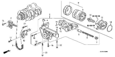 Honda online store : 2008 s2000 oil pump parts