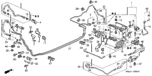 Honda online store : 2004 civic fuel pipe (1) parts