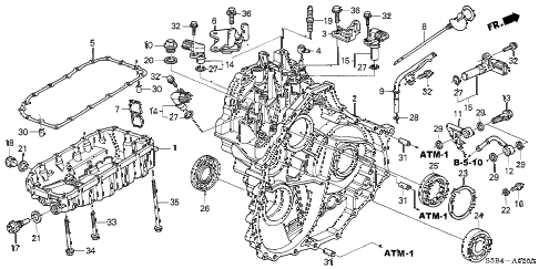 2005 Honda Civic Rear Suspension Parts Diagram • Wiring
