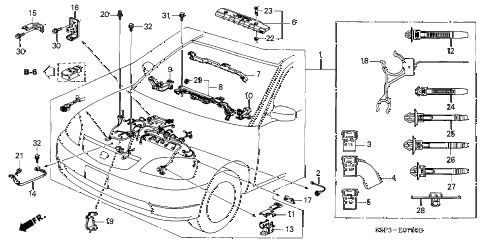 2003 Honda Civic Wiring Harness : 31 Wiring Diagram Images