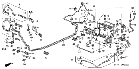 Honda online store : 2005 civic fuel pipe (1) parts