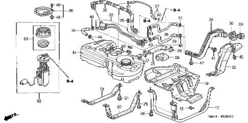 Honda online store : 2004 crv fuel tank (1) parts