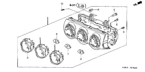 Honda online store : 2005 crv heater control parts