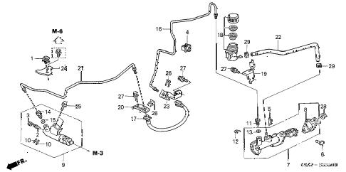 Honda online store : 2004 crv clutch master cylinder parts