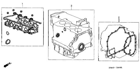 Honda online store : 2004 crv gasket kit parts
