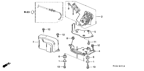 Honda online store : 2005 crv accelerator sensor parts