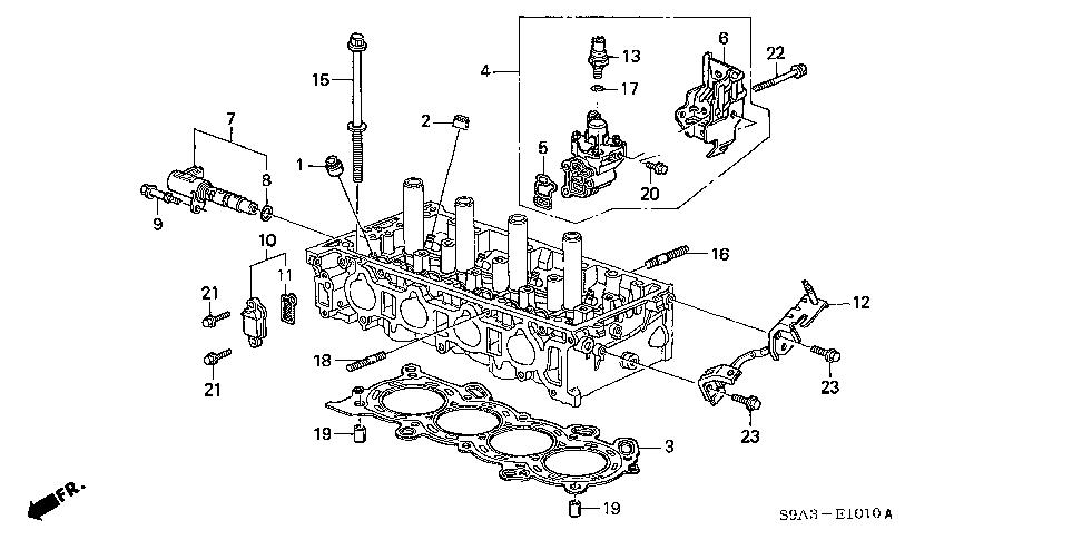 Honda online store : 2003 crv vtc oil control valve parts