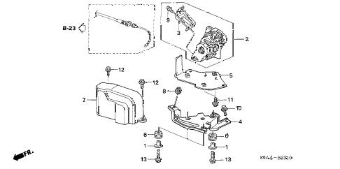 Honda online store : 2006 crv accelerator sensor parts
