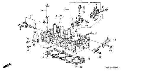 Honda online store : 2006 crv spool valve parts