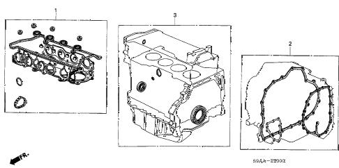 Honda online store : 2006 crv gasket kit parts