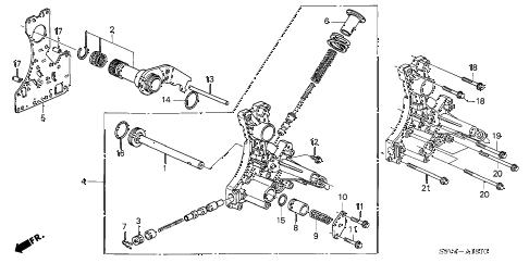 Honda online store : 2006 pilot at regulator body ('06-) parts