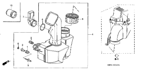 Honda online store : 2006 pilot resonator chamber parts