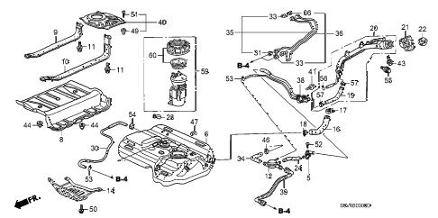 Honda online store : 2004 pilot fuel tank (1) parts