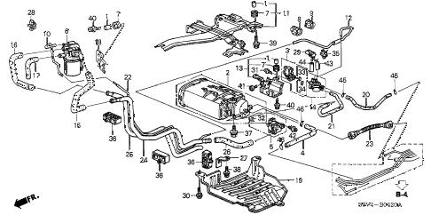 Honda online store : 2004 pilot canister (1) parts