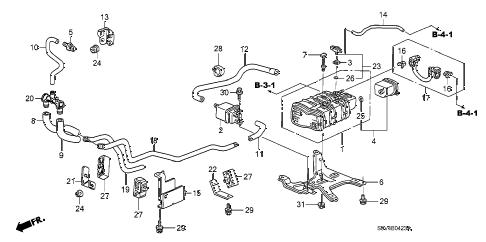 Honda online store : 2006 pilot canister (4) parts