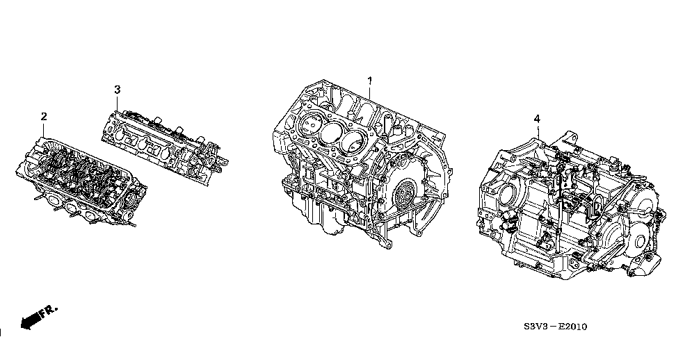 Honda Pilot Replacement Parts Motor Repalcement Parts And Diagram