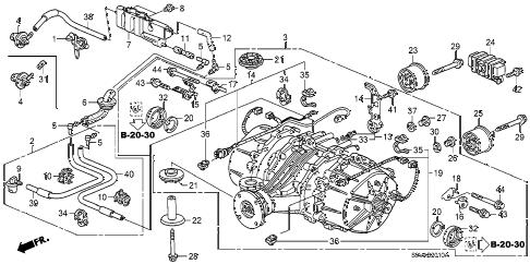 Honda online store : 2008 pilot rear differential parts