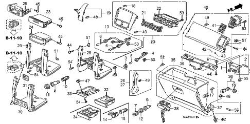 Honda online store : 2008 pilot instrument panel garnish