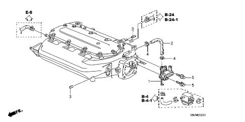 Honda online store : 2008 pilot tubing parts