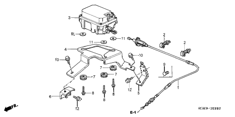 Honda online store : 2004 element auto cruise parts