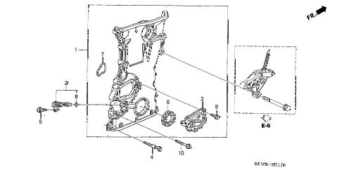Honda online store : 2003 element chain case parts