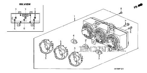 Honda online store : 2008 element heater control parts