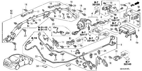 Honda online store : 2007 accord srs unit parts