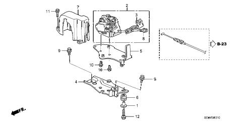 Honda online store : 2007 accord accelerator sensor parts
