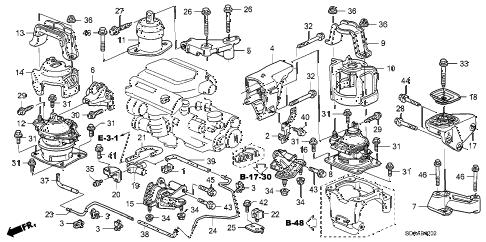 Honda online store : 2007 accord engine mounts (v6) (mt) parts