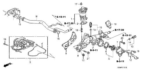 Honda online store : 2007 accord water pump (v6) parts