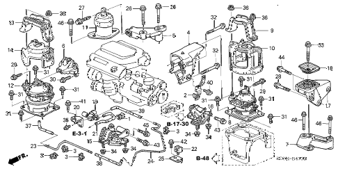 Honda Accord Sir Engine 98 Accord Sir Wiring Diagram ~ Odicis